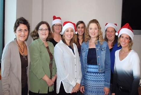 Tech Trek at SWOSU Planning Committee members (left to right): Elizabeth Amen, Kathy O'Neal, Cindi Albrightson, Kristin Woods, Erin Ridgeway, Adina Foust, Lori Gwyn, and Lisa Appeddu (Not Pictured: Jorie Edwards).